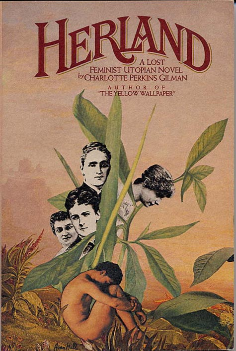 Charlotte Perkins Gilman, cover of Herland