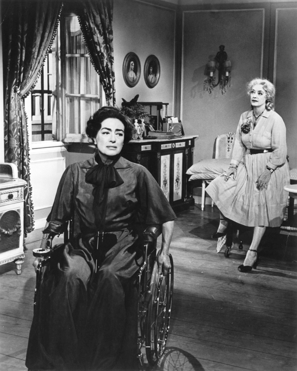 Joan Crawford in Whatever Happened to Baby Jane?