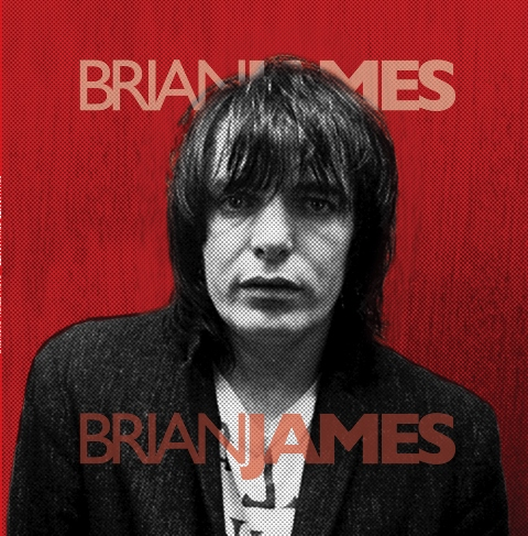 Brian James 2018 reissue cover