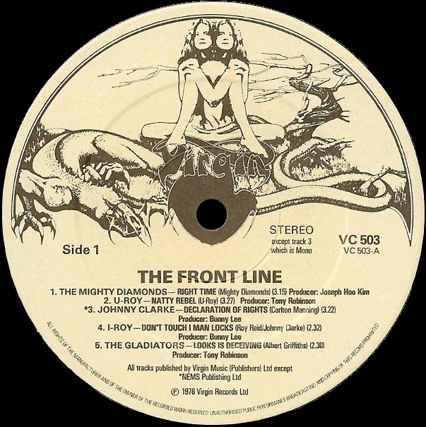 The Front Line 1976 album Side 1